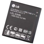 Akku, LG FL-53HN P990 Optimus 2X (GB) Használt gyári csomagolás nélküli