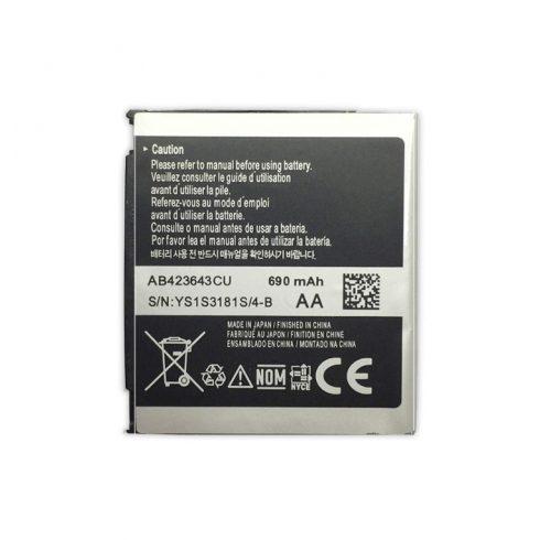 Akku, Samsung AB423643 U600,X820,E840,D830 (GB) Használt gyári csomagolás nélküli