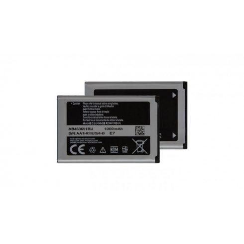 Samsung F400/L700/S3650Corby/M7500/M7600/S5600 gyári akkumulátor - Li-Ion 960 mAh - AB463651BU csomagolás nélküli