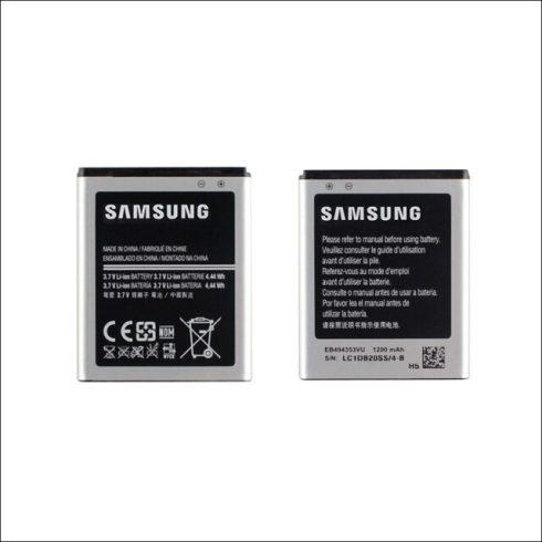 Samsung EB494353VU akku Li-Ion 1200mAh, S5570, S5330 gyári csomagolás nélkül