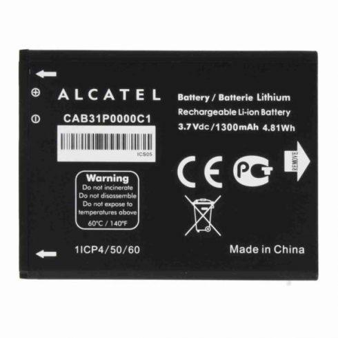 Akku, Alcatel CAB31P0000C1/TLI014AB OT 990, (GA) Újszerű gyári