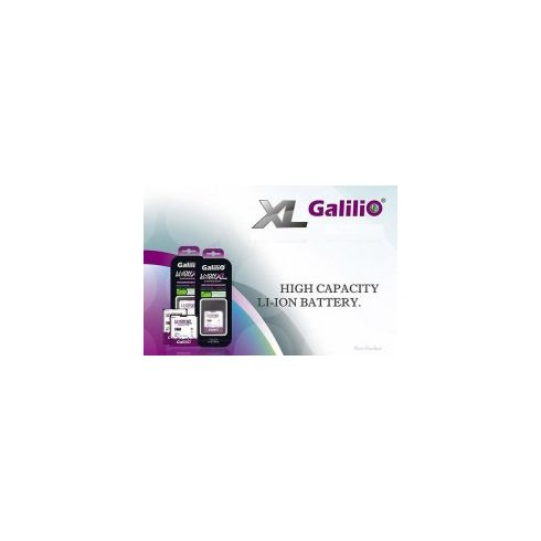 Galilio BlackBerry D-X1  akkumulátor Li-ion 1600 mAh