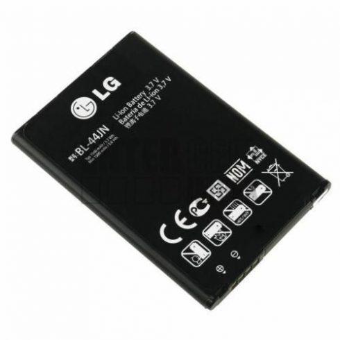 Akku, LG BL-44JN E400, E610, E730, P970 (GC) Használt gyári csomagolás nélküli