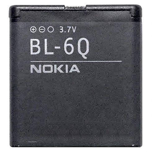 Nokia BL-6Q akkumulátor Li-ion 970mAh gyári