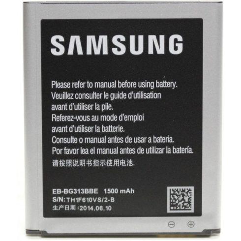 Samsung EB-BG313BBE akkumulátor Li-ion 1500mAh Galaxy Trend 2 SM-G313 gyári NFC