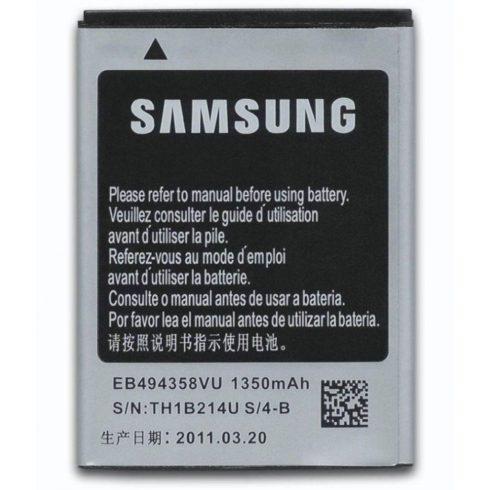 Samsung EB494358VU akkumulátor Li-ion 1350mAh Galaxy Ace GT-S5830 gyári