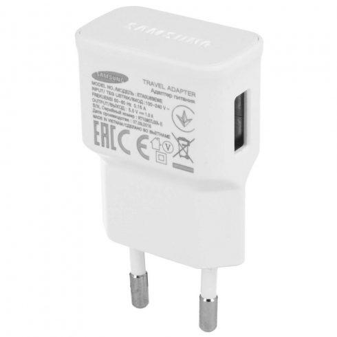 Samsung ETA0U83EWE hálózati USB töltő adapter fehér (Bulk)