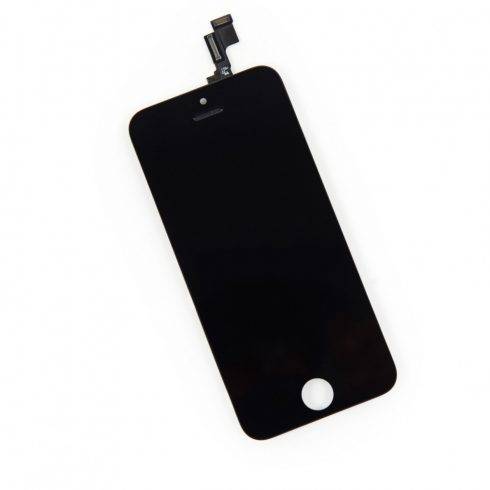 Érintő+LCD, Apple iPhone 5 fekete (A+)