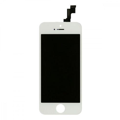Érintő+LCD, Apple iPhone 5S/SE fehér (A+)